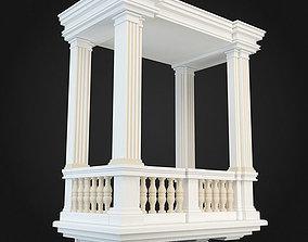 model 3D model Balcony