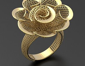 free Fusion Ring STL 3d model for 3d printing 0001