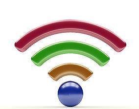 Wi-Fi object 3D
