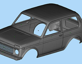 Printable Body Lada Niva 3D print Russian SUVs Scale