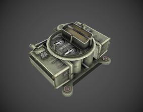 Holley 2x4 carburetor 3D model
