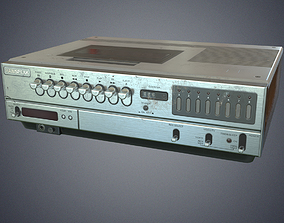 Video cassette recorder low-poly