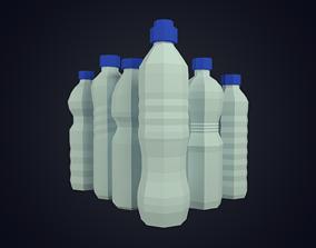 Water Bottles 3D model