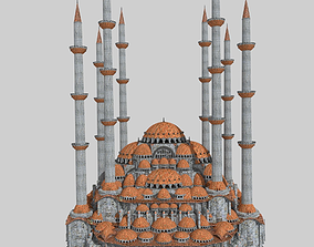 3D model Fantasy Ottoman Mosque