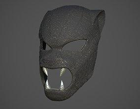Black Panther ceremonial masks from 3D printable model 1