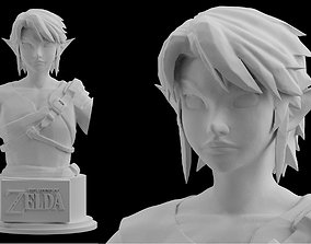 Zelda Farmer Link Twilight Princess Statue Figure 3D 1