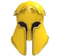 THE GOLD HELMET OF ATHENS 3D asset