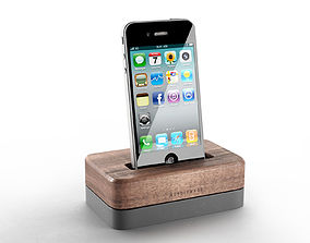 3D Iphone with Docking Station