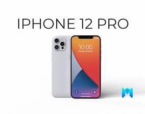 2020 iphone 12 pro max 3D model