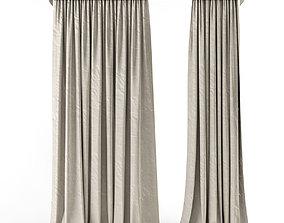 3D model Curtains Loft 3