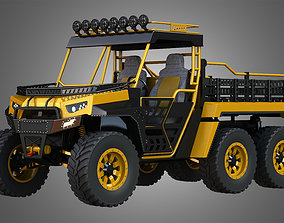 3D BMS - The Beast 1000 vehicle - Double Axle