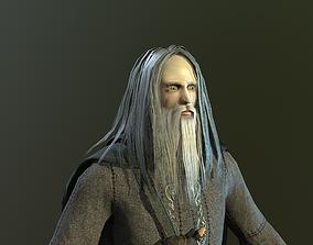 Warrior Of Magic 3D model animated