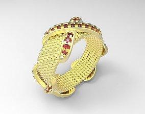 tiffany ring 3D printable model