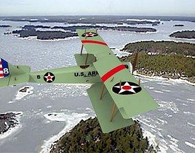 Curtiss JN-2 Jenny US Army 3D