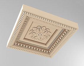 3D asset Decorative Ceiling Tile Rosette