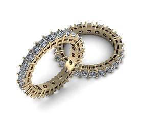 Eternity Jewelry Ring 007 3D printable model