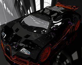 Customized veyron 3D