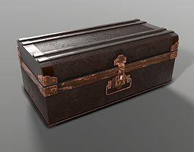 game-ready PBR Dark Chest Low poly 3Dmodel