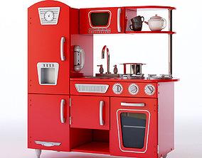 3D model Kidkraft Vintage Play Kitchen