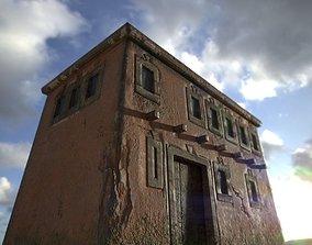 old house-PBR 3D model