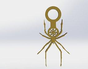 Spider Pendant Spider Web 3D print model