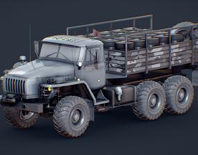 Ural Truck 4320 MOD A 3D