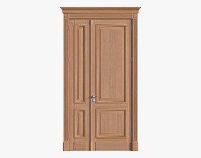 Door classic double 03 3D model