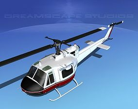 3D Bell 204 Mission Critical