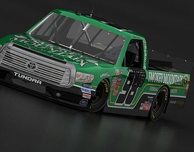 3D asset Toyota Tundra 2014 Nascar Camping World Game