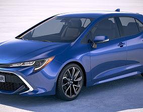 Toyota Corolla Hatchback 2019 3D model