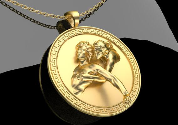 Devil Advocate Pendant Jewelry 3D print model