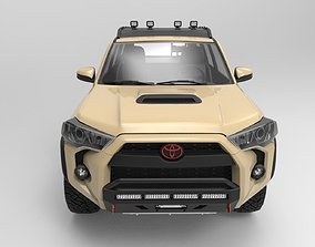 Toyota 4Runner 2018 TRD Pro edition with 4x4 3D