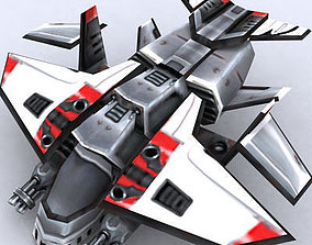 game-ready 3DRT - Sci-Fi Forces - Gunship 1