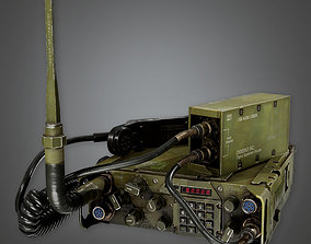 Military Long Range Radio - MLT - PBR Game Ready 3D model