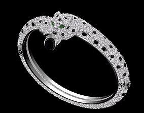3D print model bracelet cheetah