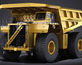 Haul Truck VRAY 3D