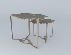 3D Puddle Side Table