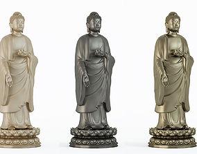 Buddha sculpture statue 3D model
