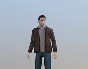 Casual Male 3D asset