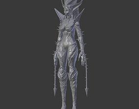 League of Legends Zyra 3D printable model