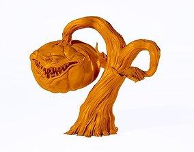3D printable model Wierd Halloween Pumpkin statue