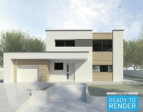 Modern House 2 - Revit 3D based