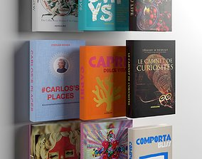 stack 3D Books 03