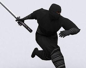 3DRT - Ninjas Pack animated