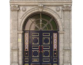 3D model Entrance classic door
