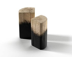Stump Side Table 3D model