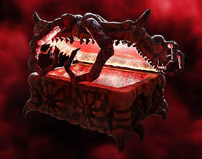 The treasure of the Demon Crab - CraBox Mimic 3D asset