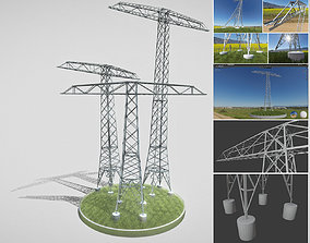 3D Transmission Tower Package