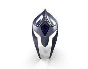 3D Knight Helmet