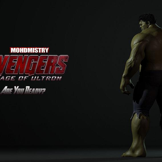 Hulk Dramatic shot